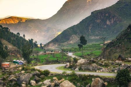 The glorious view of Karakarr Valley Swat, Pakistan