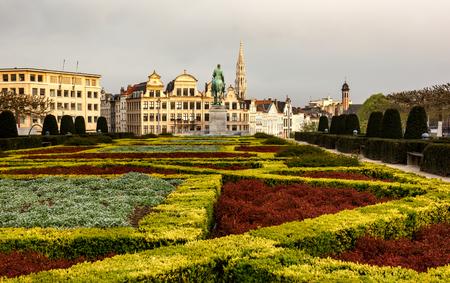 Monts des Arts à Bruxelles, Belgique Banque d'images - 83357096