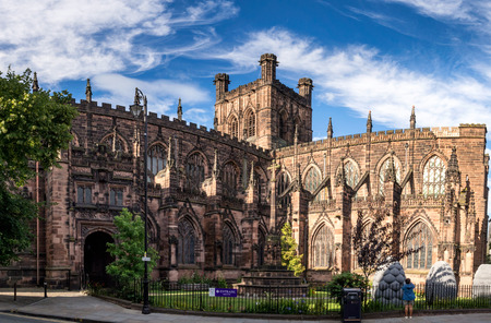 Cathedral Church of Christ and the Blessed Virgin Mary in Chester, UK