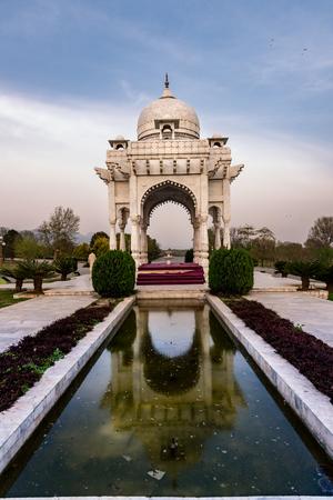 Reflection of Bara dari at f9 park Islamabad Pakistan Stock Photo