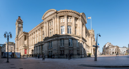 Birmingham town hall is the first of the monumental town halls that would come to characterise the cities of Victorian England