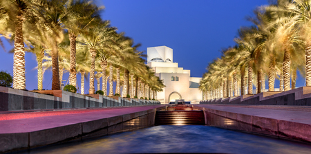 The Museum of Islamic Art is a museum located on one end of the seven kilometers long Corniche in the Qatari capital, Doha.