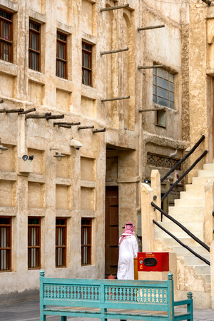 Souq Waqif is a souk in Doha, in the state of Qatar. The souk is noted for selling traditional garments, spices, handicrafts, and souvenirs. It is also home to dozens of restaurants and Shisha lounges.