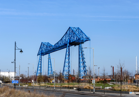 The Tees Transporter Bridge, often referred to as the Middlesbrough Transporter Bridge is the furthest downstream bridge across the River Tees, England.