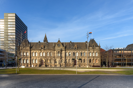 Town hall of Middlesbrough city , Teeside UK Editorial
