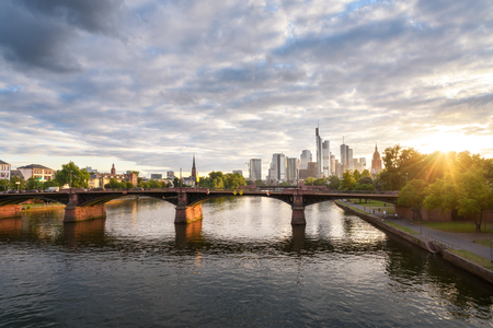 Frankfurt, a central German city on the river Main, is a major financial hub thats home to the European Central Bank.