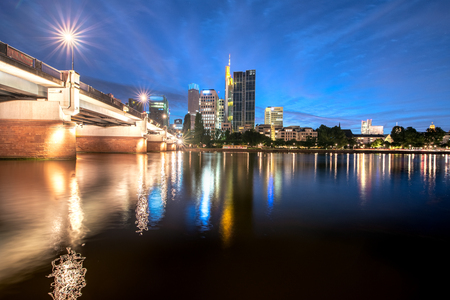 Frankfurt is the major financial centre of the European continent.
