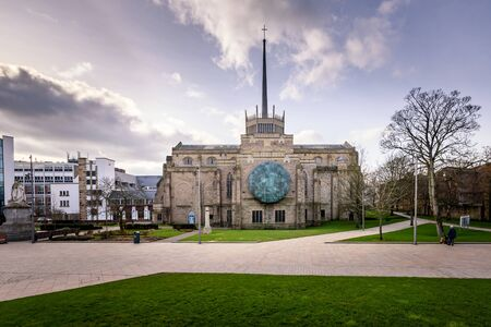 Blackburn Cathedral is one of England's newest Cathedrals, yet it is one of the country's oldest places of Christian worship in Blackburn, UK. Stock fotó
