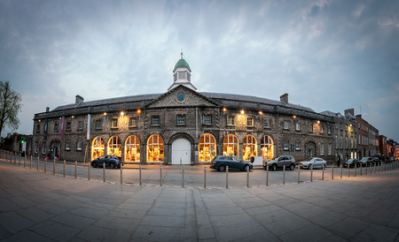Kilkenny Design Centre occupies a landmark building overlooking Kilkenny Castle in the heart of Kilkenny City Editorial