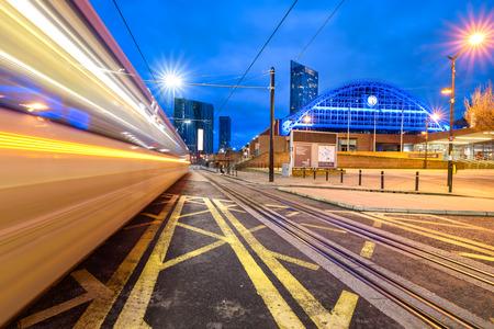 La antigua estación de tren de Manchester Central es actualmente un centro de conferencias y exposiciones en Manchester, Reino Unido.