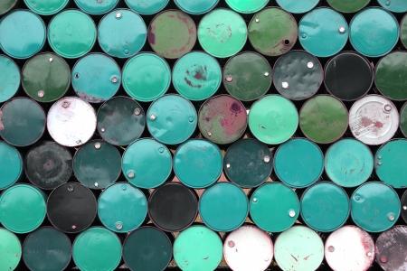 stack of barrel background  Standard-Bild