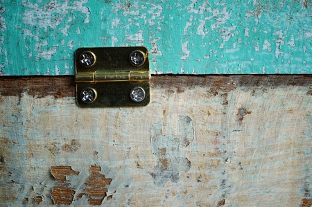 hasp: hasp and wooden background