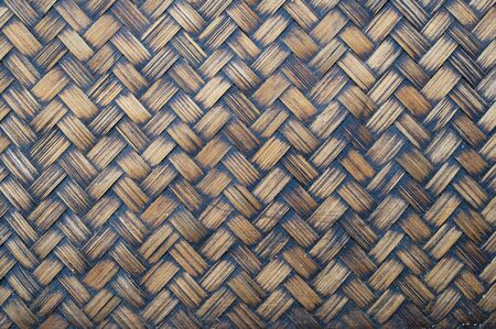 Native Thai style bamboo wall photo