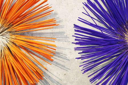 joss: drying colorful joss stick