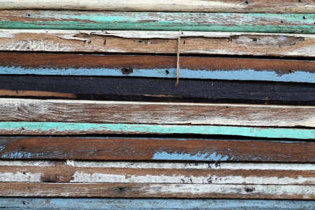 grunge colorful wooden panel Stock Photo - 21057442