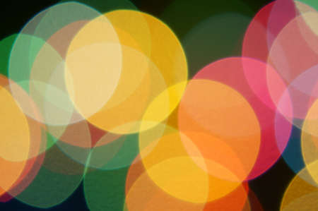 real bokeh background from optical lens  photo
