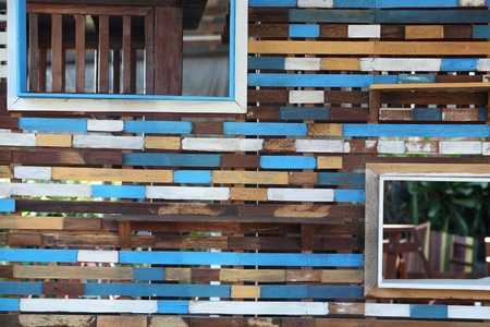 tabique: tabique de madera vintage. Foto de archivo