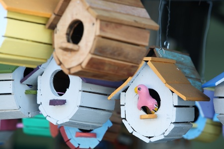 creative birdhouse. photo