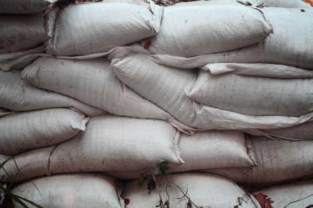 pattern of sandbag  photo