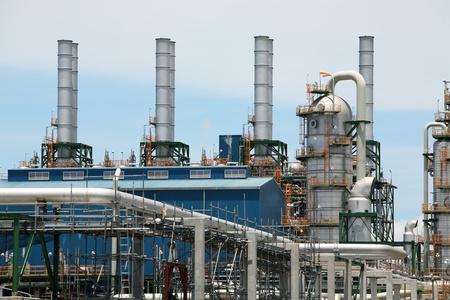 refinery plant  photo
