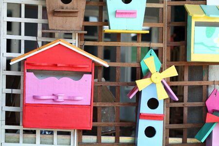 creative birdhouse and post box  photo