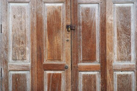 wooden folding door  photo