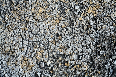 mud wall: cracked soil  Stock Photo