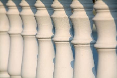 balustrade: Architectural element - a balustrade Stock Photo