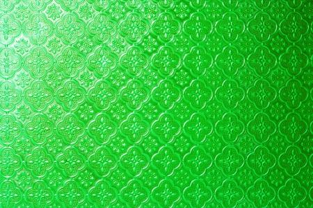 Glass pattern Live Green  photo