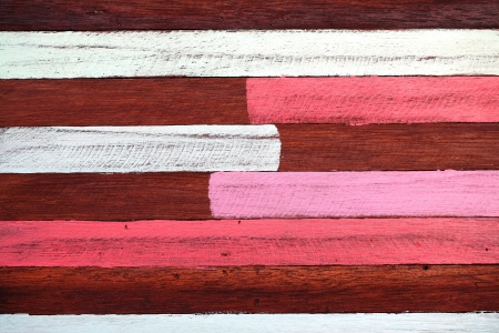 colorful painted stripe wooden panel photo