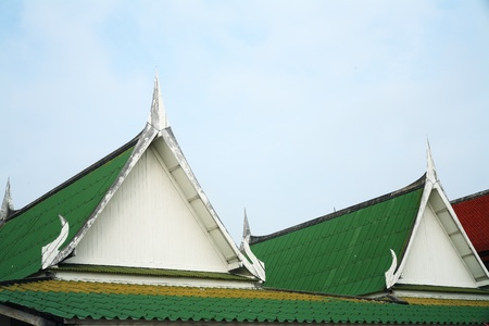 temple roof  photo