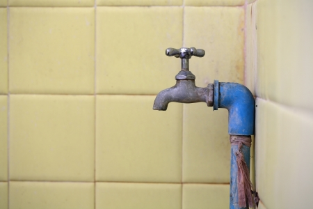 an old tap  photo