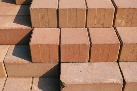 red brick background. Stock Photo - 22511050