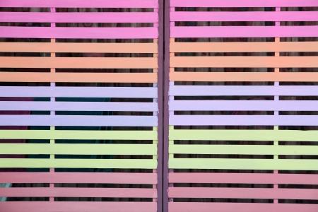 lath: colorful lath.
