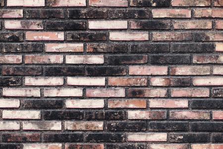 weathered: weathered brick wall Stock Photo