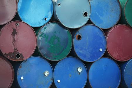 tanque de combustible: grunge tanque de combustible industrial Foto de archivo