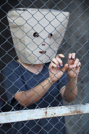 mysteroius prisoner in jail photo