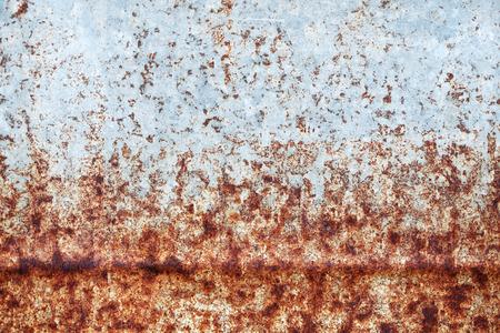 grunge rusty zinc wall photo