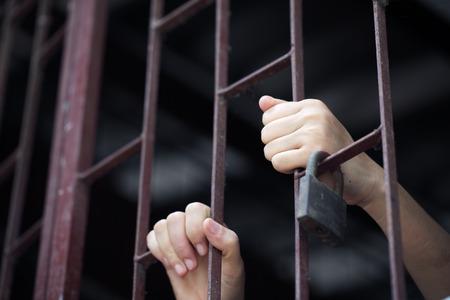 jail: prisoner in jail