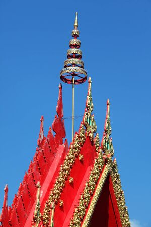 tradition: Tradition thai roof temple