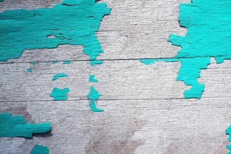 peeling: Grunge peeling wooden panel .