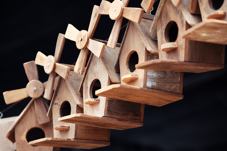 bird house: cute wooden bird house