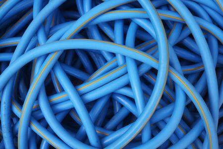 plastic conduit: water hose background.