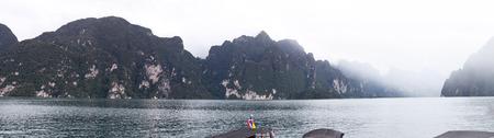 sok: panorama of khao sok scenic,THAILAND.