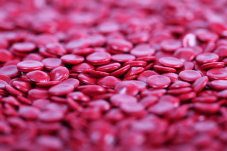 pellet: plastic pellet background