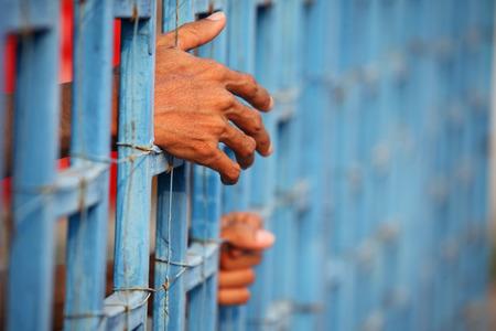 prisoner: prisoner in jail