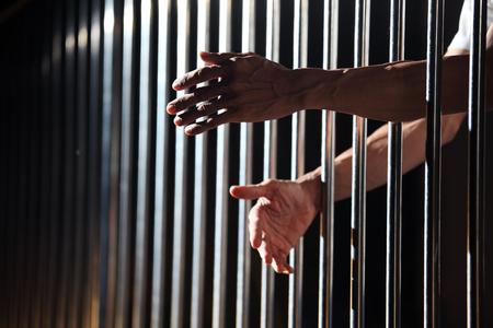 cellule prison: prisonnier en prison