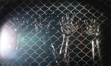 carcel: mano sucia en la c�rcel