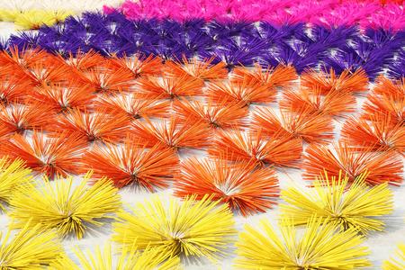joss: colorful joss stick background