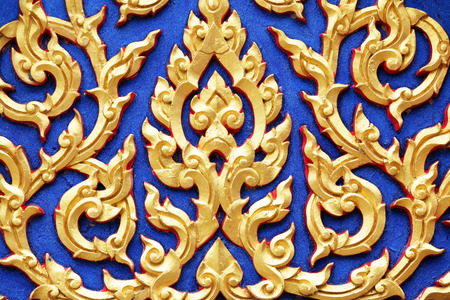 style: thai style pattern background Stock Photo